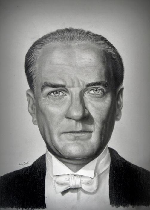 Mustafa Kemal Atatürk by ercansebat